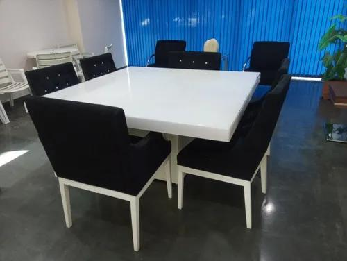 Mesa 4 Cadeiras E 2 Prontonas