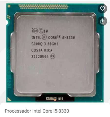 Processador Core I5 Terceira geração