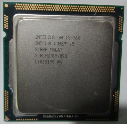 Processador i5 760 2.8ghz 8M cache LGA 1156