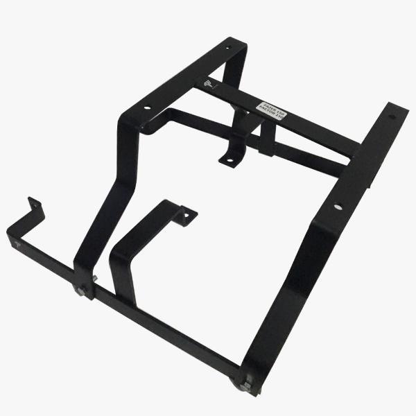 suporte de baú (reforçado) - yamaha factor 150 / fazer 150