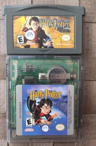 2 Game Boy Color Advance Harry Potter Chamber Secrets Gba