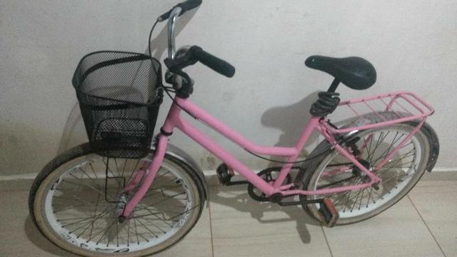 Bicicleta arrumada vendo e troco em celular