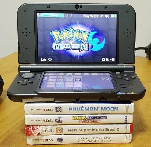 New Nintendo 3ds Xl - 4 Jogos