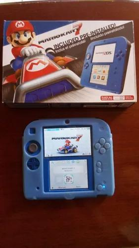 Nintendo 2ds Mario Kart 7 Edition + Capa De Borracha +sd 4gb