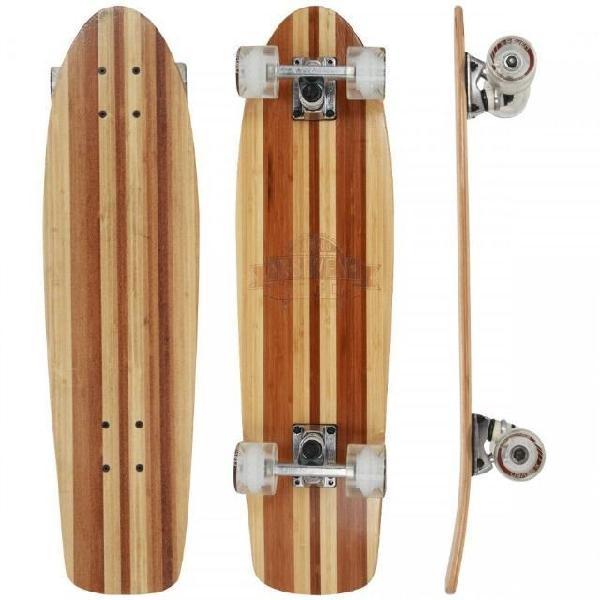 Skate X7 Madala Bamboo (Usado pouquíssimas vezes, ótimo