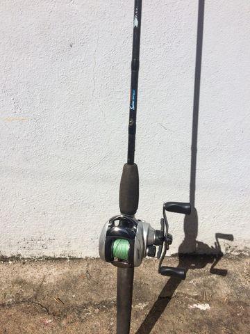Vara de pesca em carbono Mariner Fleming 6,0 + Viveiro