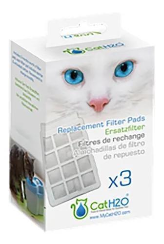 Almofada De Filtro Cat H2o 3 Unidades