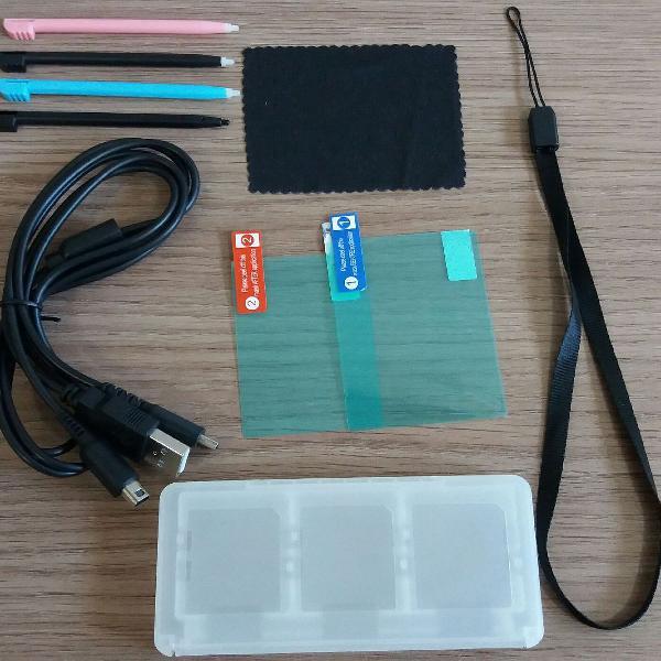 Kit de acessórios para nintendo DS (6 em 1)