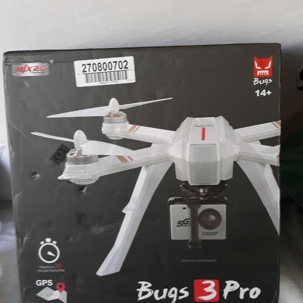 drone bugs 3 pro, camera hd 1080p, fpv, wifi, motor