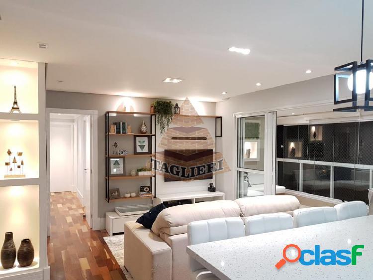 Apartamento 105m² - Vila Carrão totalmente reformado e