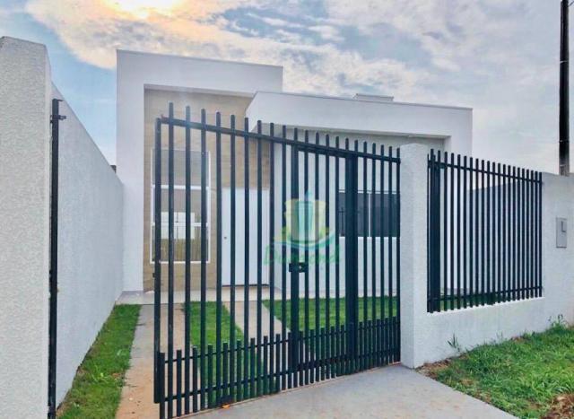 Casa com 2 dormitórios à venda com 65 m² por R$ 220.000