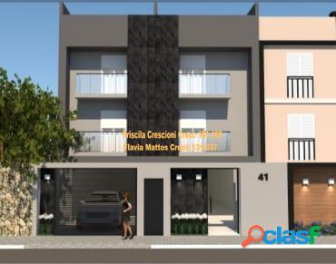 Cobertura Sem Condomínio na Vila Guiomar - Em Obra