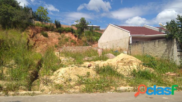 Terreno plano, murado, aceita permuta por casa no local
