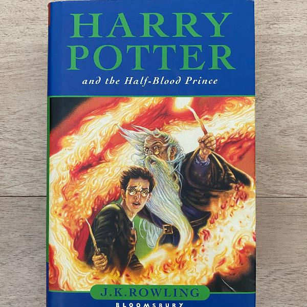 livro harry potter and the half-blood prince