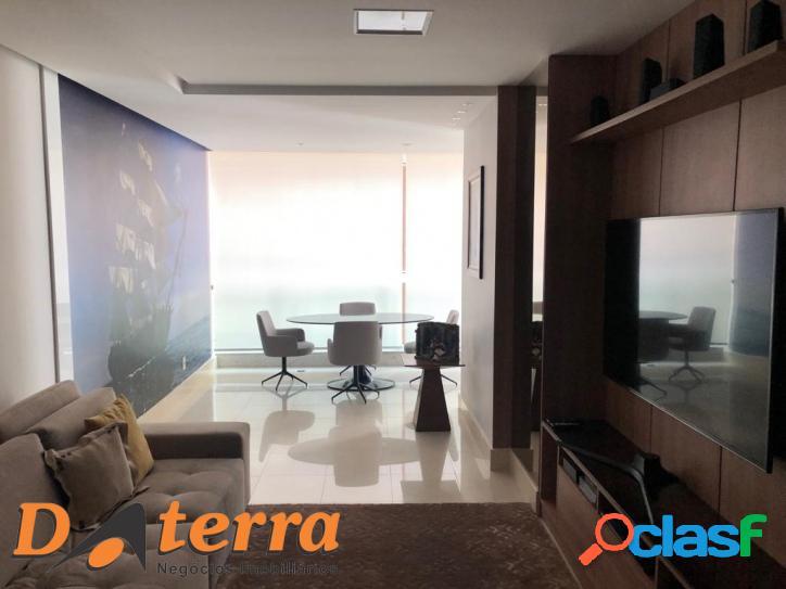 Amplo 3 quartos com suite na quadra do mar de Itapuã