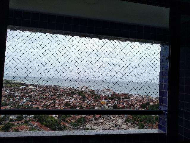Apartamento com vista para o mar no residencial Therraza