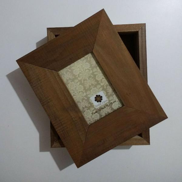 Caixa Porta Retrato 10x15cm