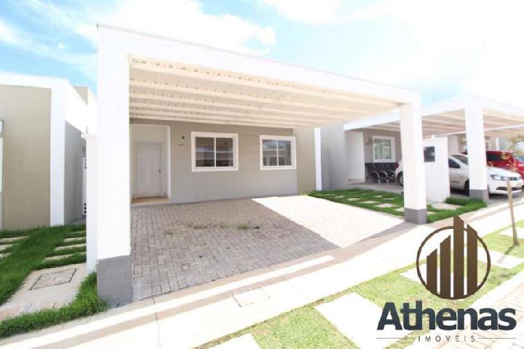 Condomínio Iguatemi Residence casa nova com 3 quartos sendo
