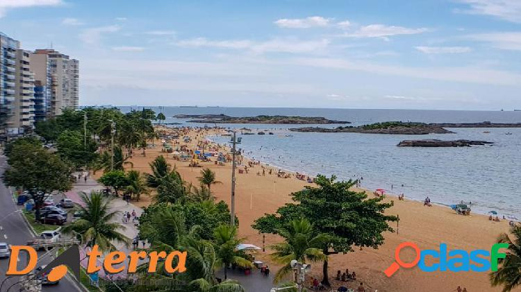 Daterra aluga amplo apartamento na Praia da costa com Vista