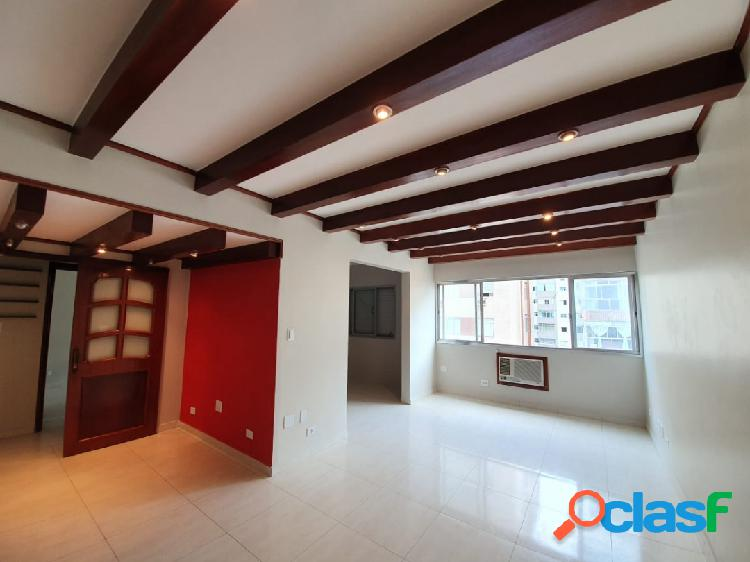 Excelente apartamento de 3 dorm com 2 suítes em Santos na