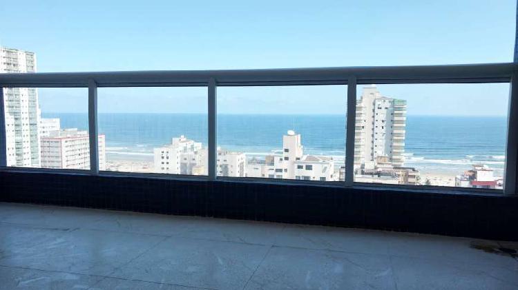 Residencial com vista para o mar.