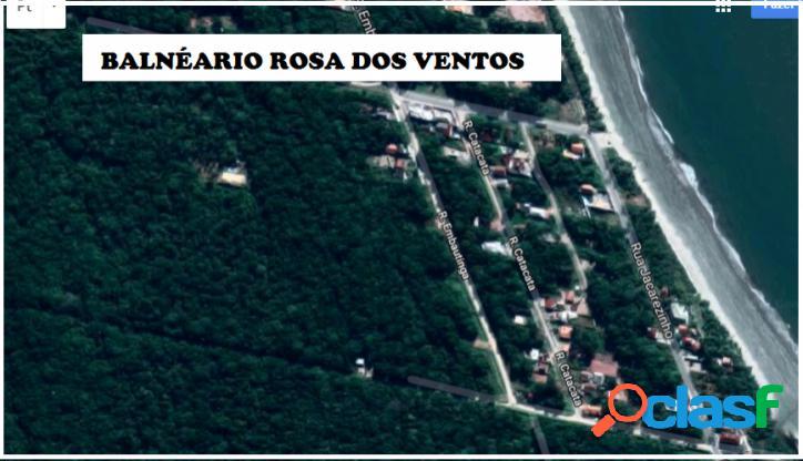 Terreno 375,00m²- Balneário Rosa Dos Ventos