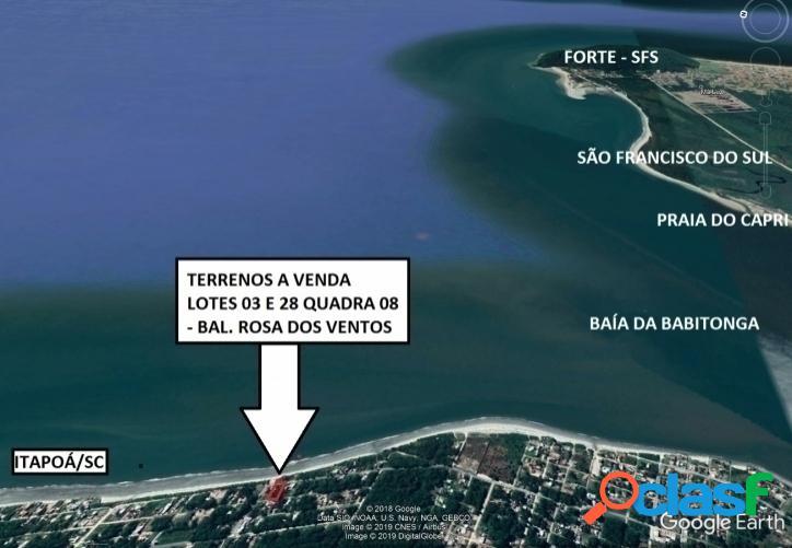 Terreno Balneário Rosa dos Ventos - 900,00 m²