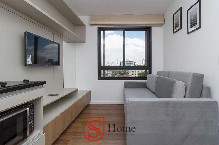 Apartamento 1 quarto para aluguel Alto da Rua XV Curitiba PR