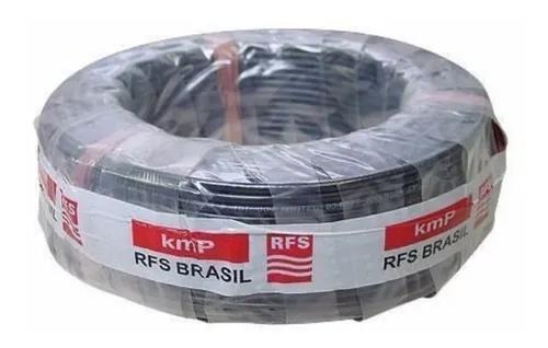 Cabo Coaxial Rfs Kmp Rg-58 50r 96% Malha 30m 2conctor Brinde