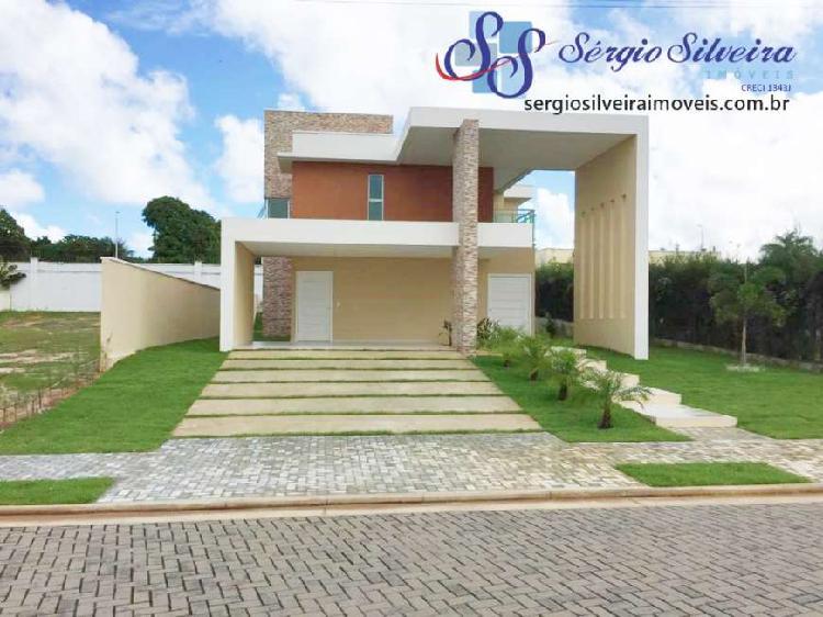 Casa à venda no Alphaville Eusébio com 4 suítes