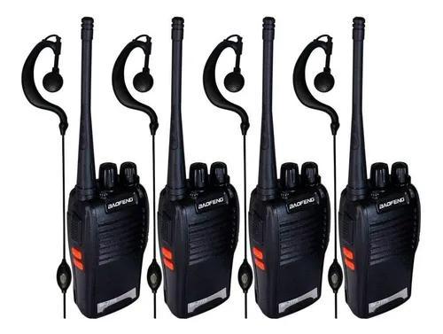 Kit 4 Rádios De Comunicação Baofeng 777 - Frete Gratis