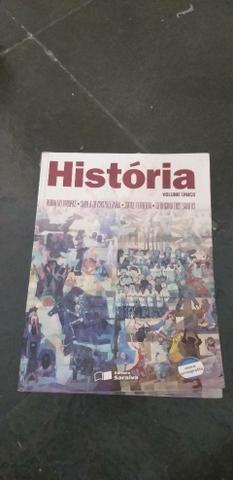 Livro de história volume único