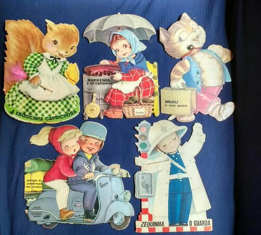 Livros infantis anos 70