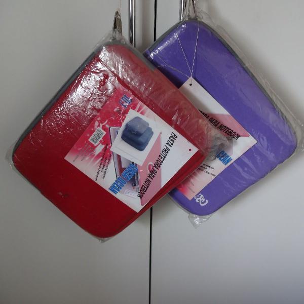 kit 2 pasta protetora para notebook 10''