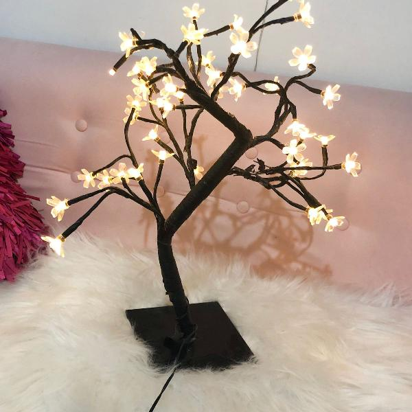 luminária árvore de cerejeira imaginarium