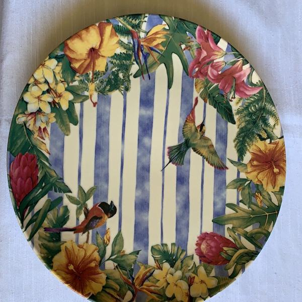 pratos rasos tamanho grande 27x27