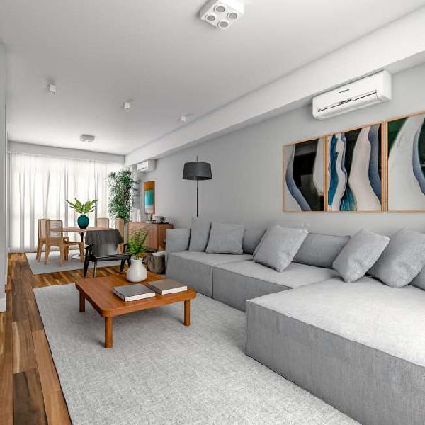 Apartamento com 151m², 3 dormitórios, 1 suíte e 1 vaga de