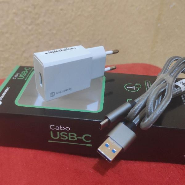 KIT CARREGADOR USB C