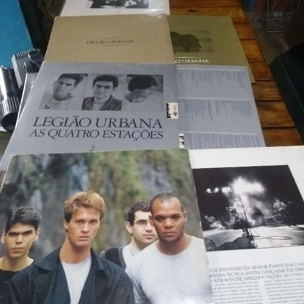 LP Legião Urbana, discos de vinil da banda Legião Urbana,