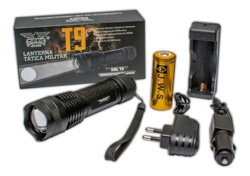 Lanterna Tática Led T9 Original A Mais Forte Do Site 2
