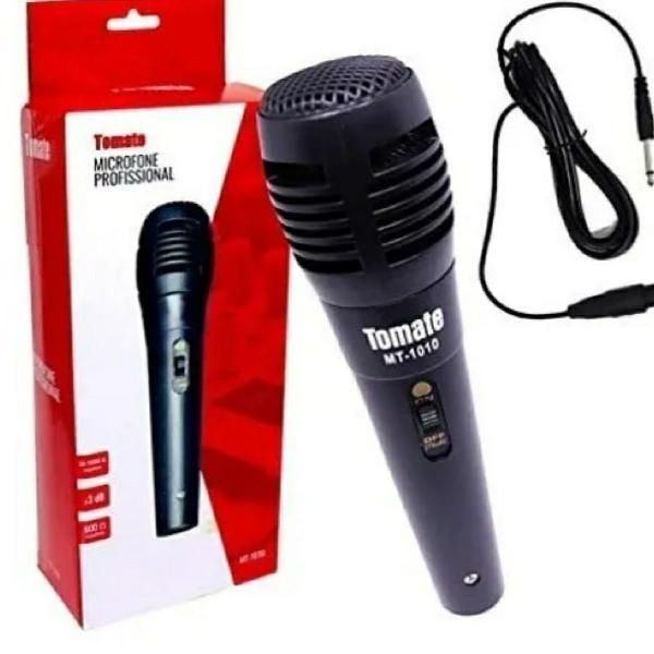 Microfone Profissional com fio Tomate Oferta