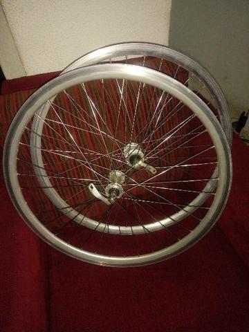 Rodas 26 aero aluminio