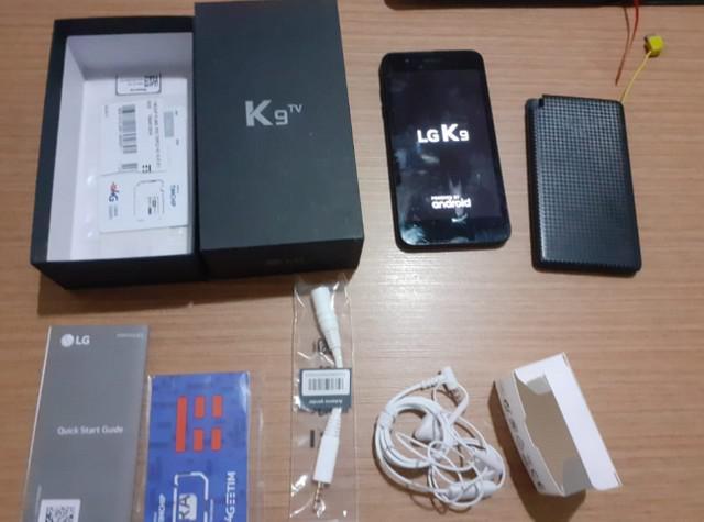 Smartphone LG K9 Preto 16GB, Android