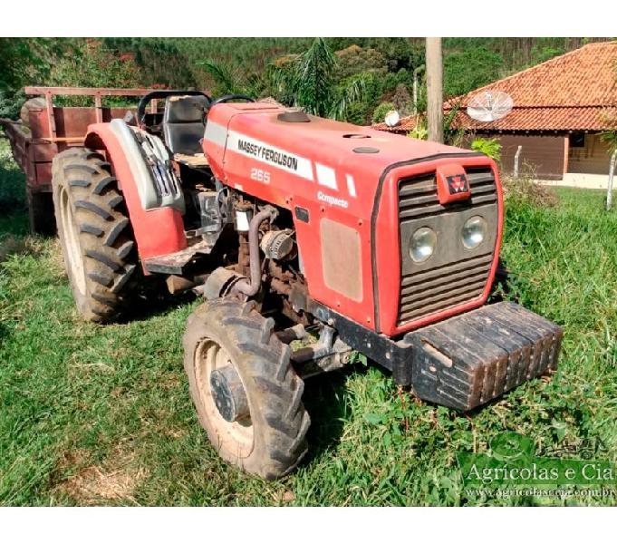 Trator Massey Ferguson 265 4x4 Compacto (2.900 Horas!)