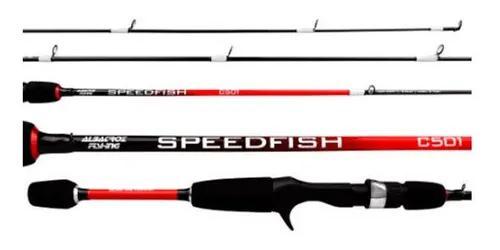 Vara Speedfish 1.52m(50) 6lb 1parte Carretilha Albatroz