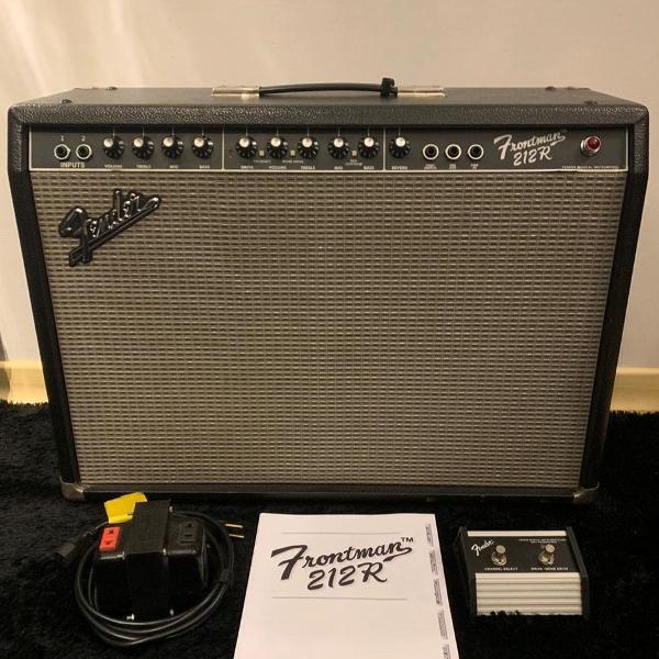 amplificador guitarra fender frontman 212r 100w