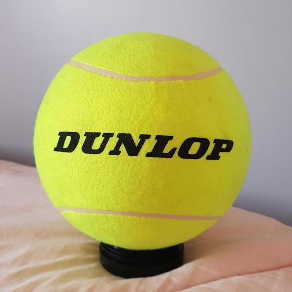 bola de tenis decorativa dunlop