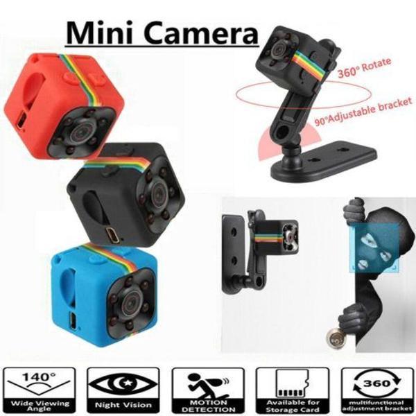camera espiã c visão noturna sq11 com sensor de movimento