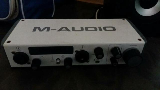 Interface M audio zerada