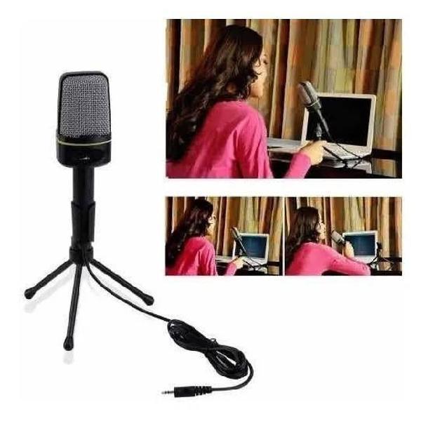Kit Microfone Estúdio Sf920 + Pop Filter + Braço